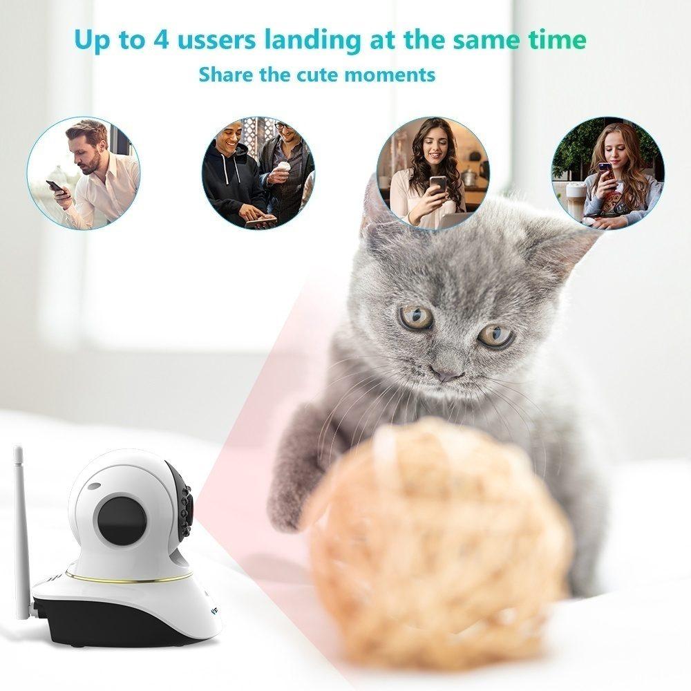 Vstarcam Kamera med kattelaser - Nå kr 799,00